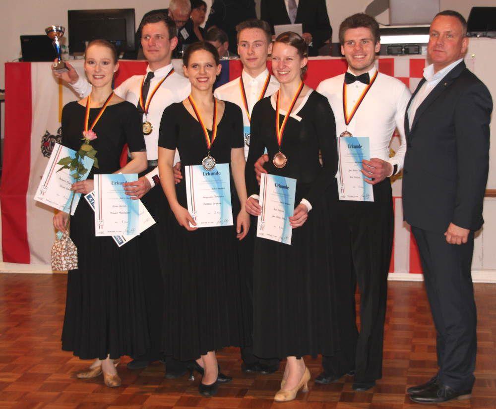 Zwei Landesmeistertitel und mehr für den Ostseetanz Greifswald
