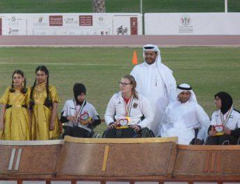 Hanna Wichmann beim internationalen Meeting in Sharjah erfolgreich