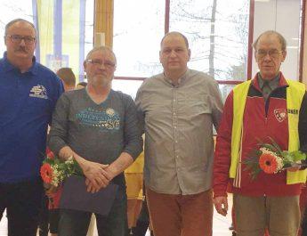 Ehrung von Engagierten des FC Einheit Strasburg