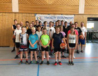 Kinder- und Jugendsportspiele im Basketball