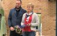 Badminton-Wetlmeisterin erhält unsere Ehrenurkunde