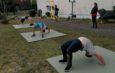 Ringer starten Training im Außenbereich