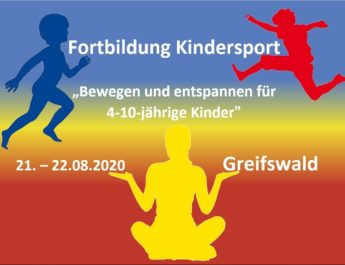 Freie Plätze Fortbildung Kindersport