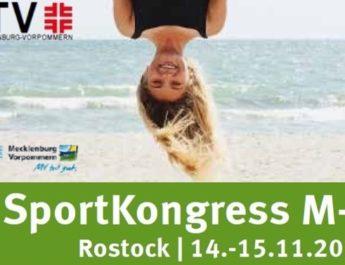 14. und 15.11.2020 SportKongress MV in Rostock