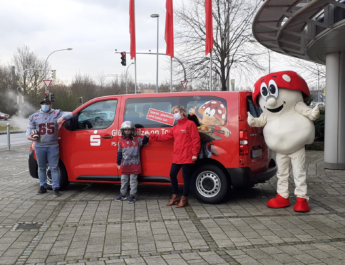 Vandals starten mit neuem Teambus ins neue Jahr