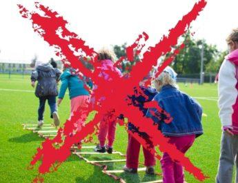 Kinder- und Jugendsport wird eingestellt