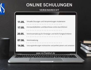 Neue Webinar-Reihe vom Vereins- und Verbands-Service (VVS)