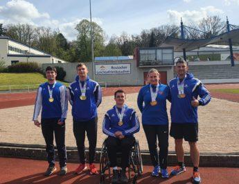 Sehr erfolgreicher Start der Para- Leichtathleten in die Freiluftsaison